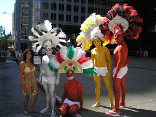 June 2006, Gay Pride Parade Seattle. The controversy this year was moving ...